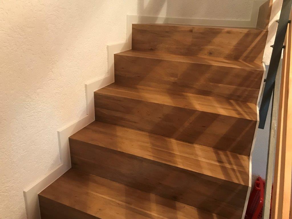 Falttreppe mit Designbelag